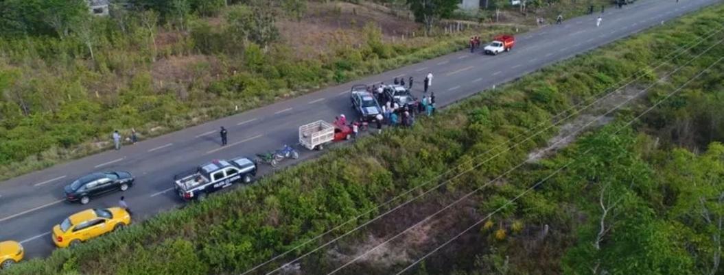 Comando asesina a ocho personas en carretera de Quintana Roo