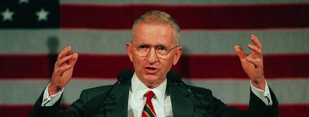 Muere Ross Perot, dos veces candidato a la presidencia de EU
