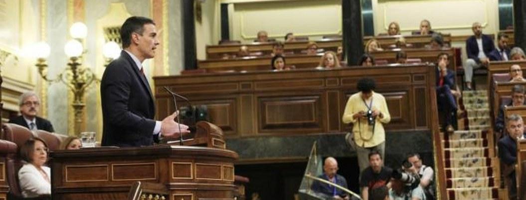Incierta la investidura de Sánchez tras debate en Congreso español