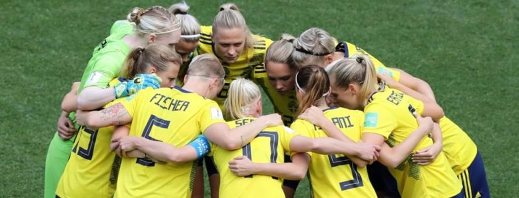 Suecas se quedan con el tercer lugar del Mundial Femenil 2019