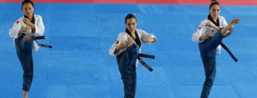 Mexicanos destacan en Taekwondo poomsae de Panamericanos