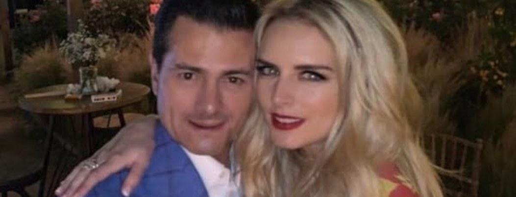 Tania Ruiz presume fotos románticas con Peña; agradece haberlo conocido