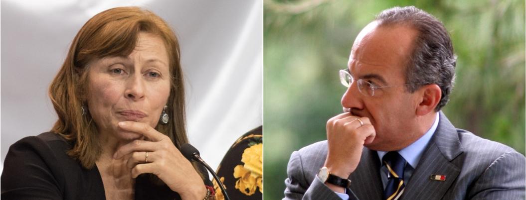 """Calderón guerrea con la """"Tía Tatis"""" tras salida de Urzúa"""