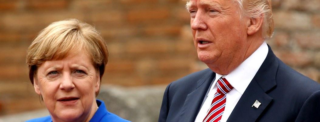 Merkel se distancia de Trump por comentarios racista contra legisladoras