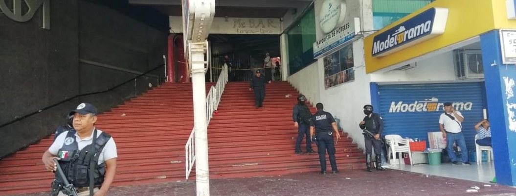 Policía atrapa a uno relacionado con ataque a bar de Acapulco