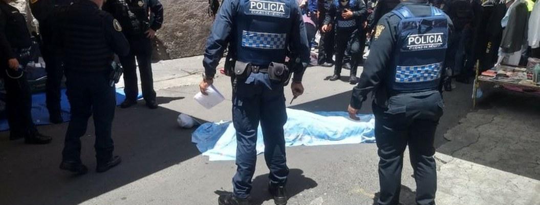Balacera en Tepito deja 2 muertos, 3 heridos y un detenido