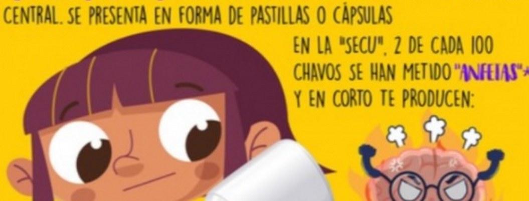 """Carteles enseñarán a los niños peligros de la """"mota"""" y el """"chemo"""""""""""