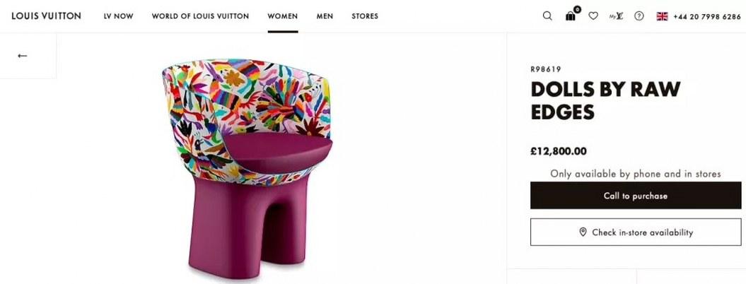México pide cuentas a Louis Vuitton por piratear diseños de artesanos