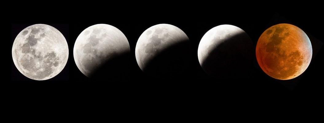 Eclipse lunar se podrá ver  hoy en el cielo de México