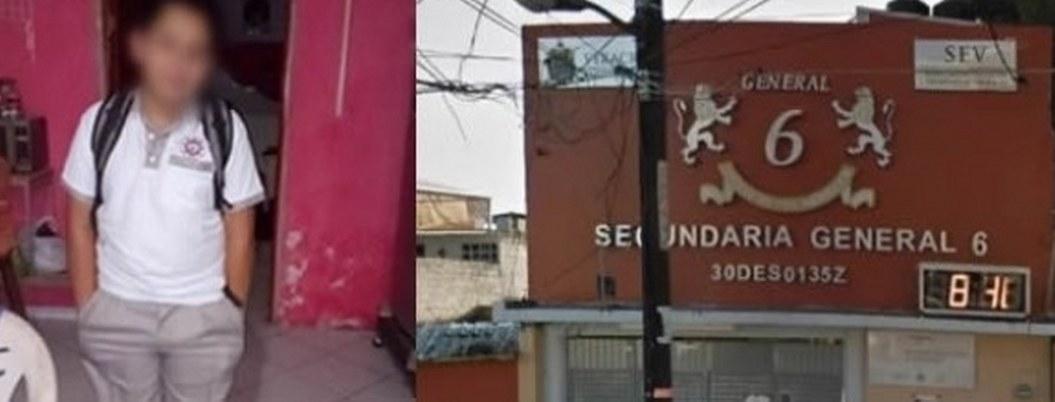 Estudiante de secundaria fue secuestrado y asesinado en Veracruz