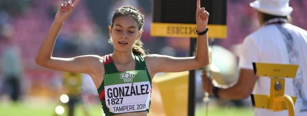 Tras cirugía, marchista Alegna González entrena con miras a Tokio 2020