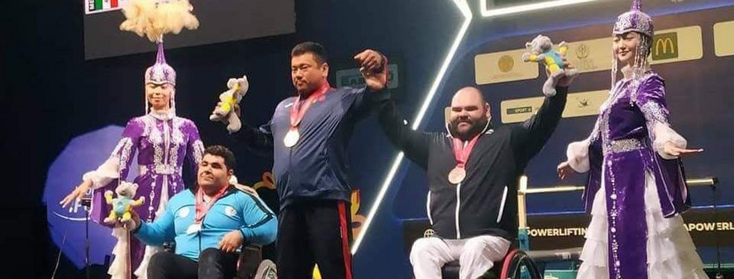 Mexicano José Castillo con bronce en Mundial de Parapowerlifting