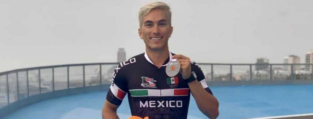 Patinador mexicano Jorge Luis Martínez se lleva plata en Barcelona