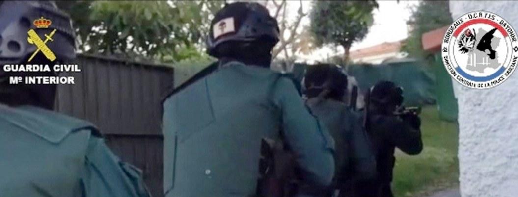 Policía española arresta a grupo de narcos acusados de matar a agente