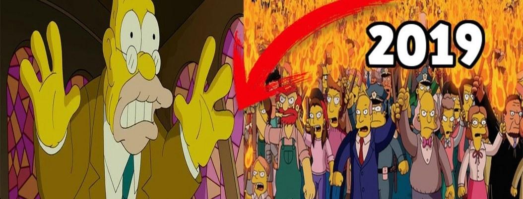 Profecías de los Simpson revelan verdades del futuro; ¿cómo le hacen?