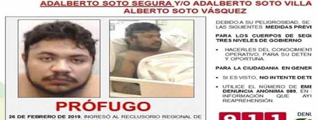 Se fuga peligroso cabecilla del CJNG de hospital en Oaxaca