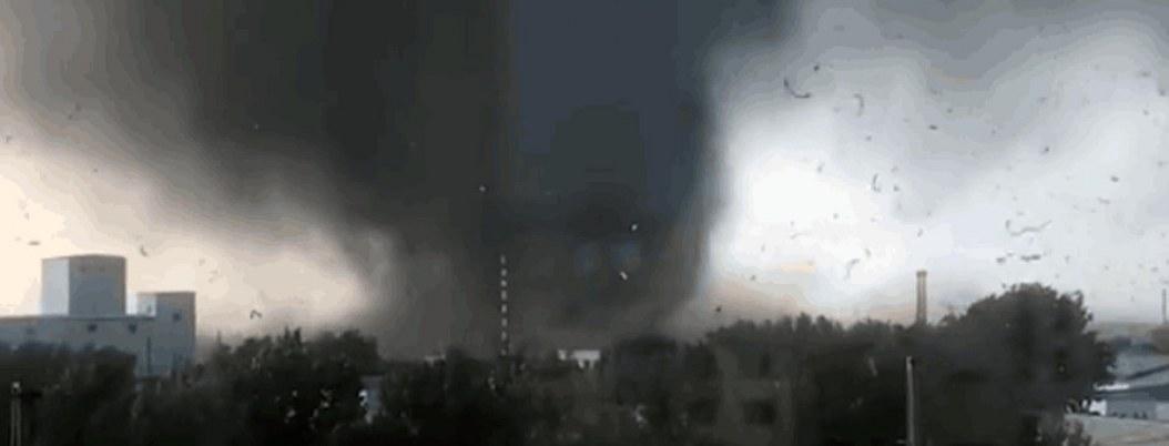 China: 6 muertos y casi 200 heridos por el paso de un tornado