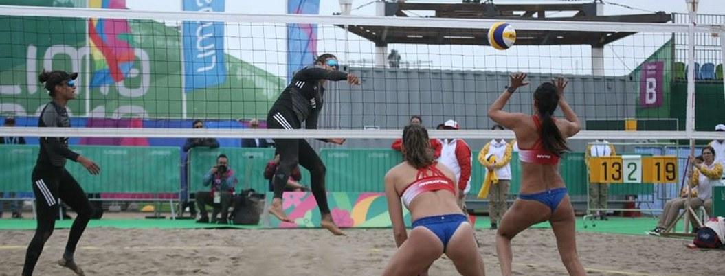 México cae sorpresivamente ante Chile en voleibol de playa