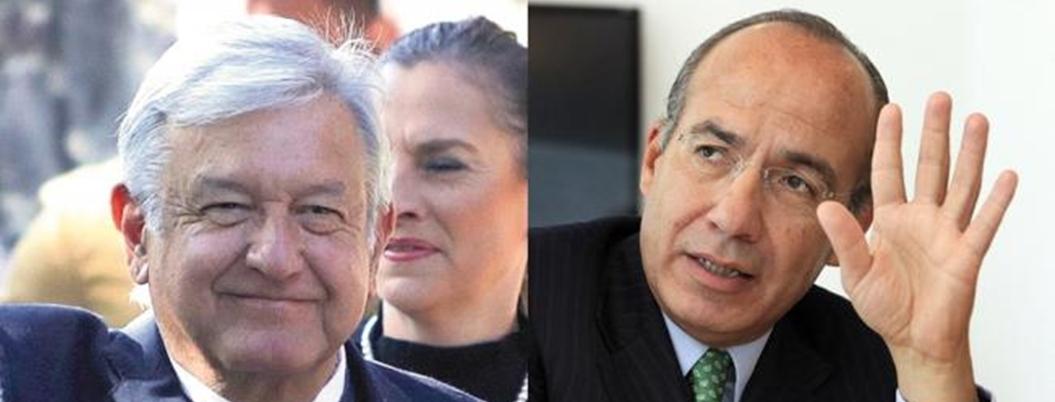 "Fraude de Calderón detonó violencia: AMLO; ""traumado"", replica Felipe"