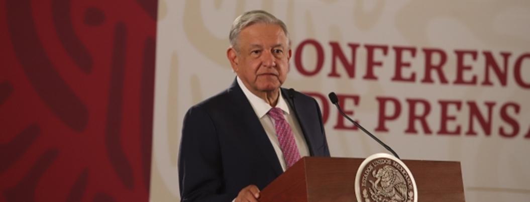 AMLO celebra la felicidad de México en el nuevo régimen