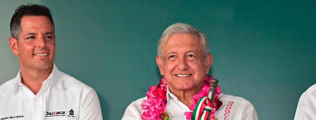 Murat no hace nada por Oaxaca y presume proyecto de desarrollo de AMLO