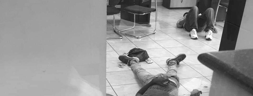 Fallece criminal herido durante asalto a banco en Chilpancingo