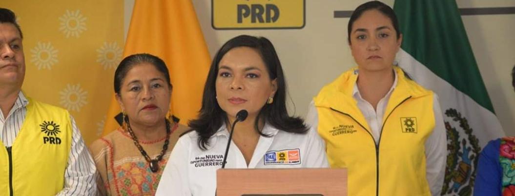 Beatriz Mojica renuncia al PRD; buscará la alternativa ciudadana