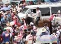Campesinos protesta