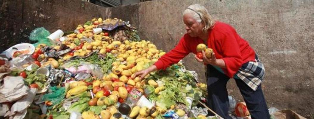 México desperdicia el 34.7% de sus alimentos