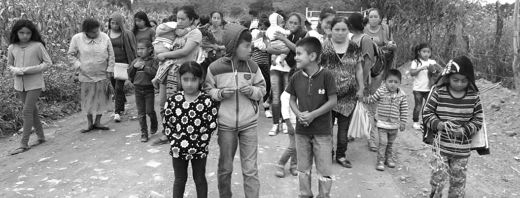 """Desplazadas de la Sierra, cien personas por detención de """"El Carrete"""""""
