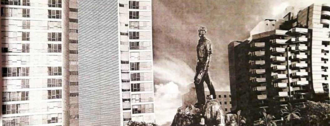 Estatua de Miguel Alemán en Acapulco