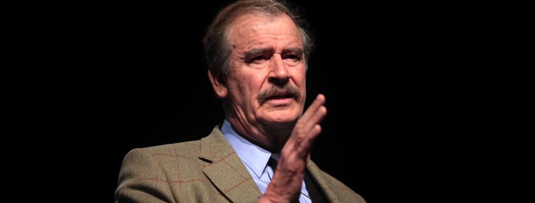 Vicente Fox celebra que AMLO ya no responsabilice a gobiernos pasados