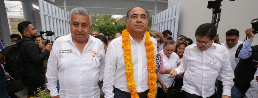 Astudillo le pide a la SEP que no abandone a escuelas dañadas por sismos