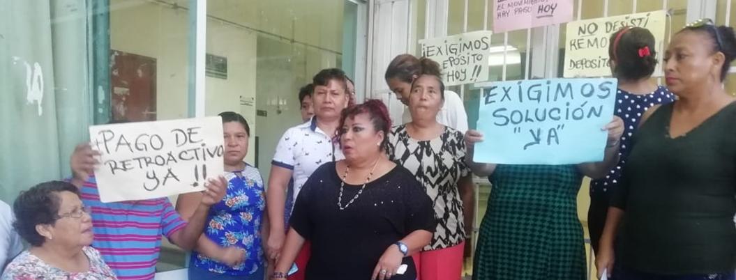 Trabajadores del TSJ se van a paro; exigen aumento de salario y bonos