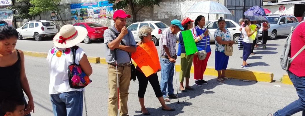 Protestan por pagos de Tarjetas del Bienestar en Chilpancingo