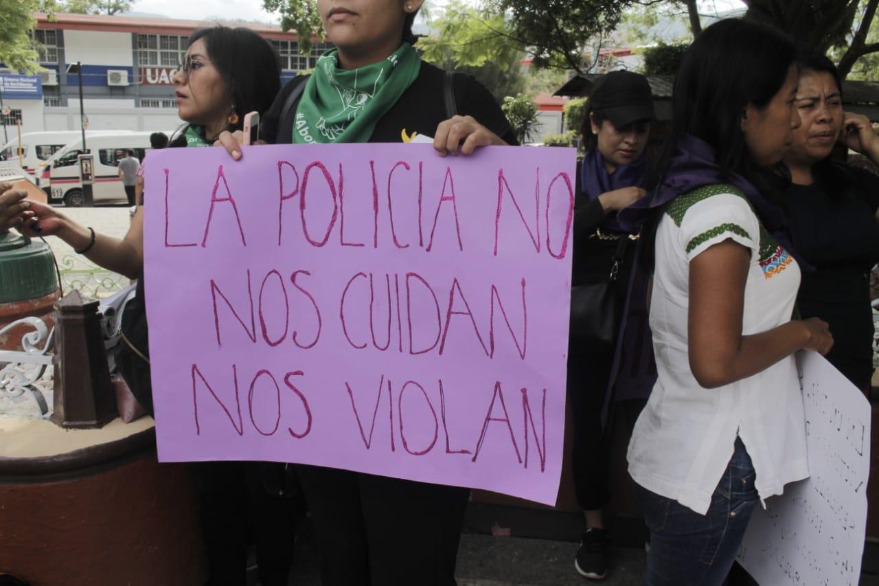 Protesta feminista en Chilpancingo 1