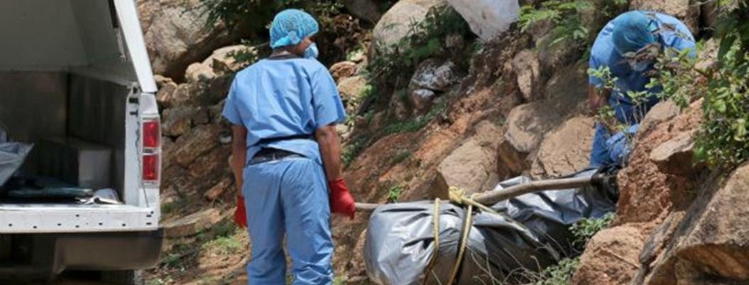 Zetas dejaron un campo de exterminio en la Sierra de Cucharas