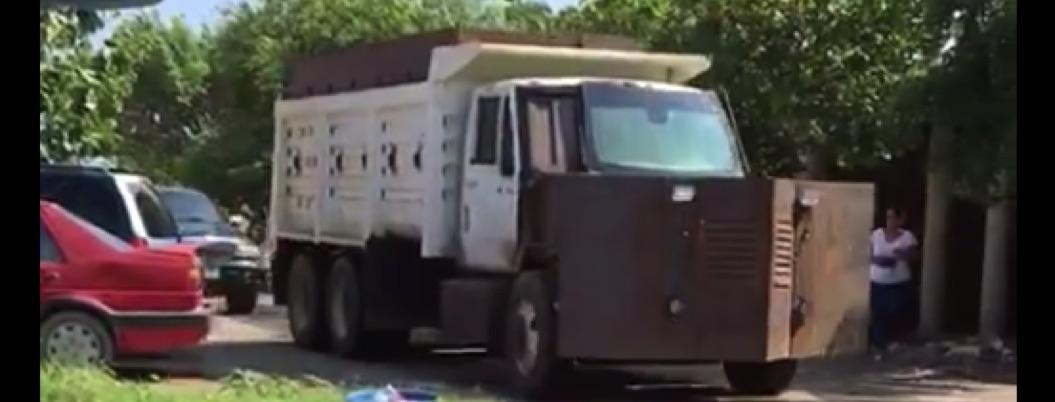 Criminales en Tepalcatepec usaron hasta una tanqueta en enfrentamiento