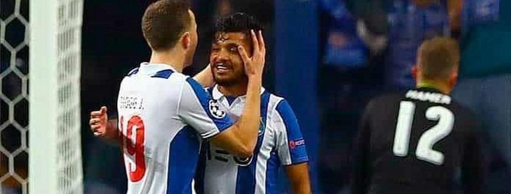 """Con """"Tecatito"""" de titular Porto toma ventaja rumbo a Champions League"""