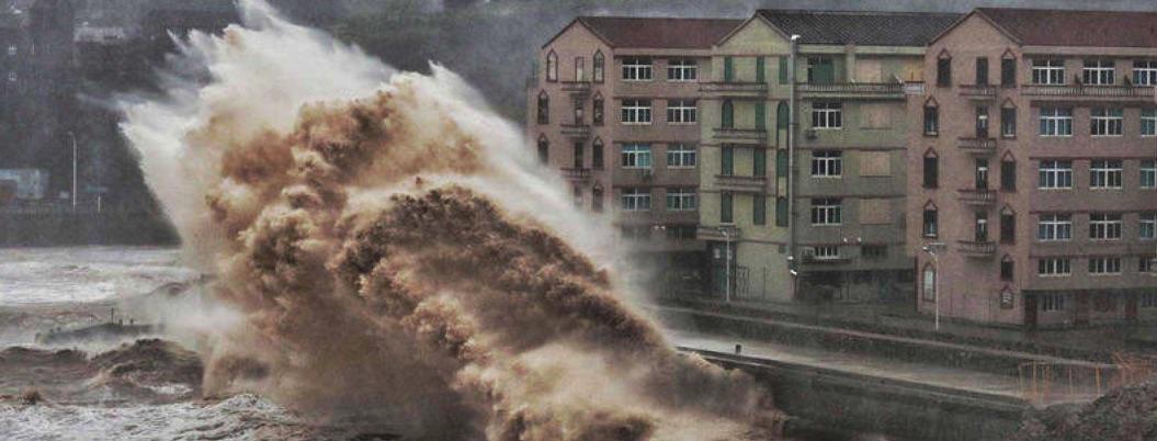 Aumenta a 44 cifra de muertos por Tifón Lekima en China