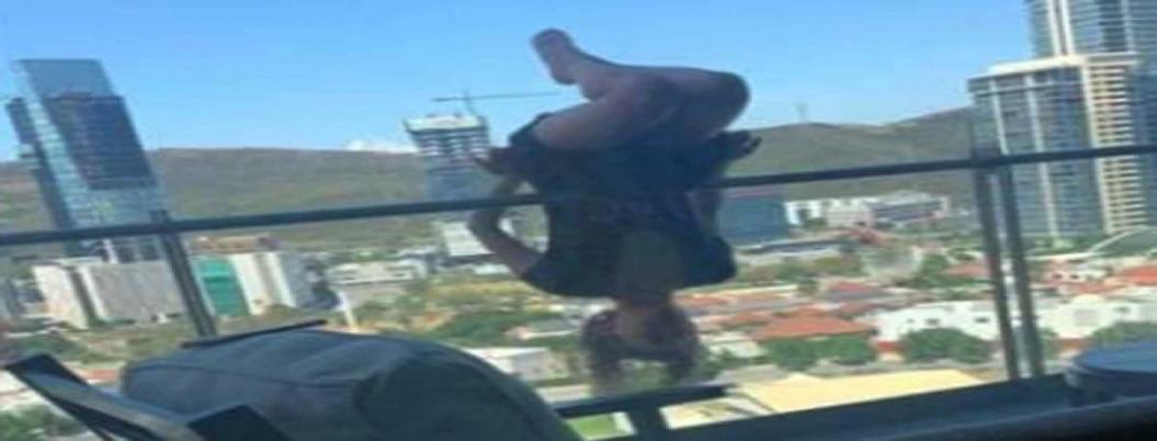 Mujer sufre 100 fracturas: hacía yoga y cae de edificio de 25 metros