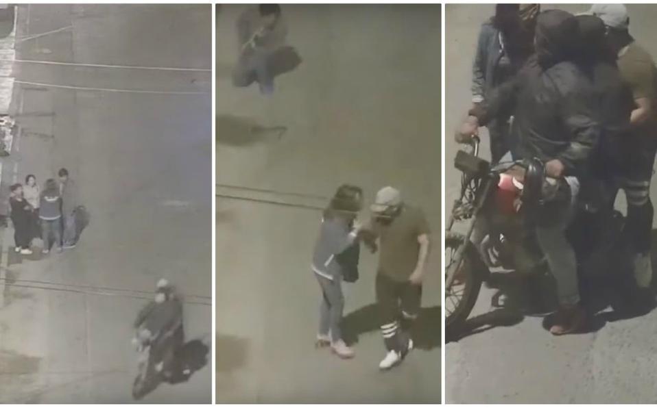 Se salvan de robo porque eran 'compas' de los asaltantes   VIDEO