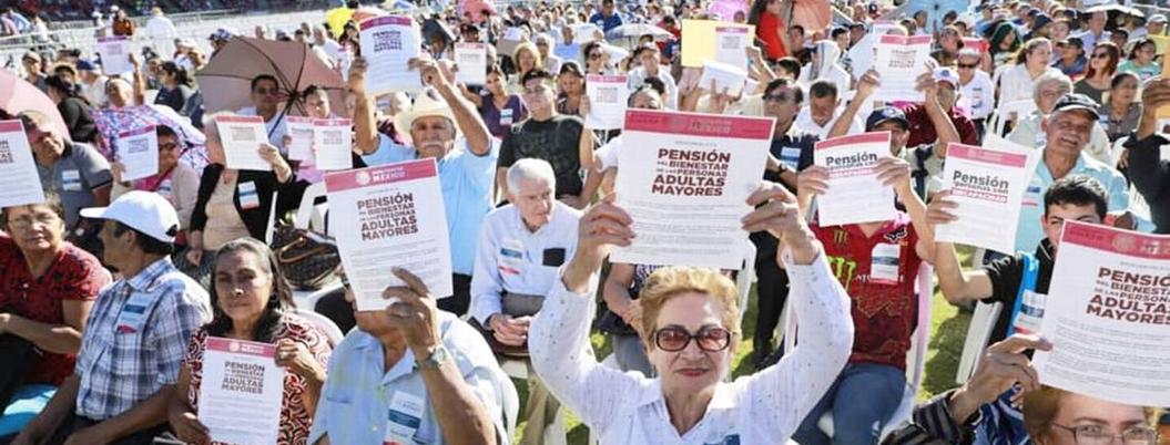 Bienestar triplica el presupuesto para pensiones de adultos mayores