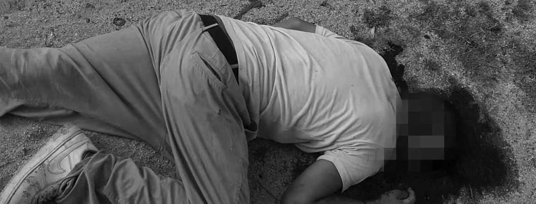 Matan con tres disparos en el rostro a un hombre en Coyuca de Benítez