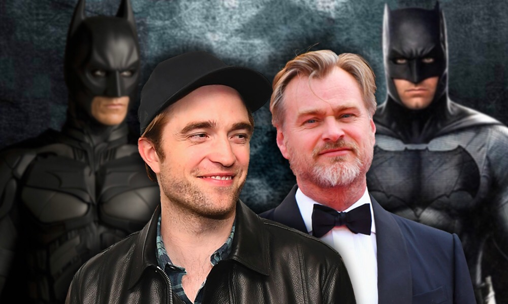 Pattinson pide consejos a Christopher Nolan para interpretar a Batman