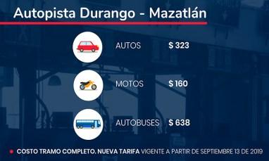 Durango Mazatlán