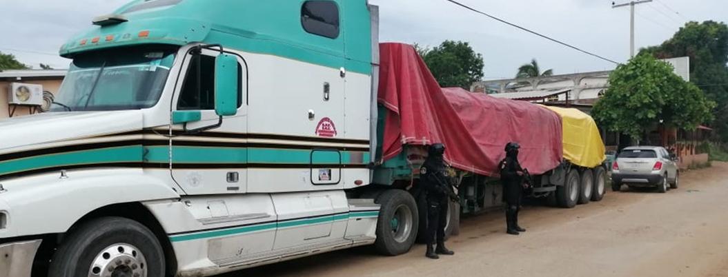 Detienen a 9 saqueadores de fertilizante en Petatlán, Guerrero