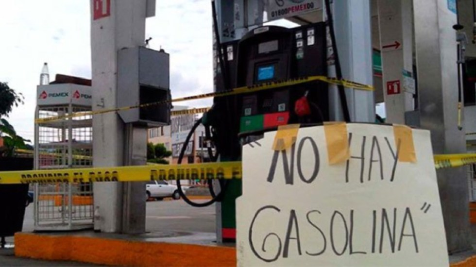 Reportan desabasto en más de 100 gasolineras en Puebla