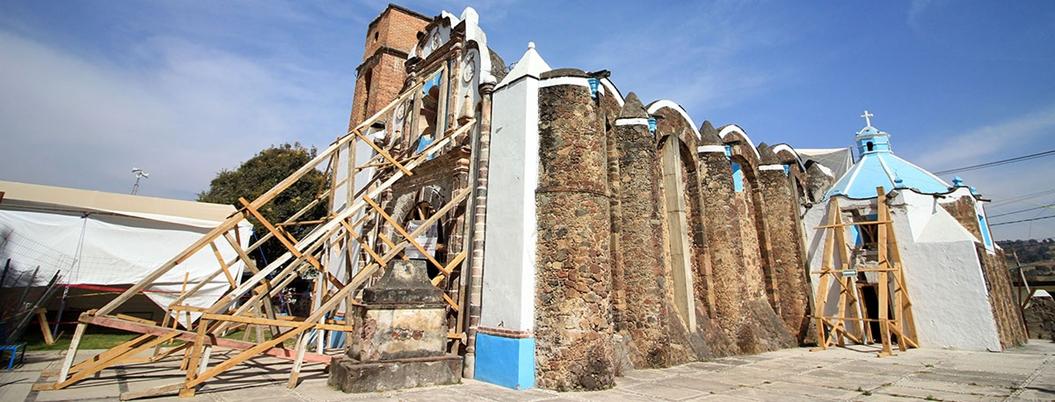 INAH restauró 990 inmuebles dañados por sismo en Morelos