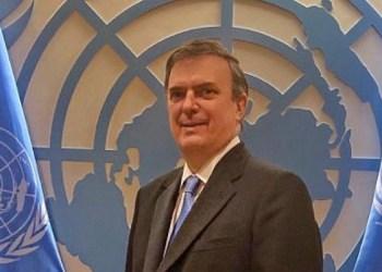 Marcelo Ebrard ONU
